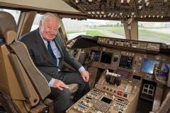 Nasmeh v pilotski kabini orjaka pove vse