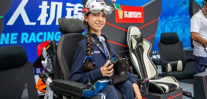 "Luisa Rizzo: ""Drone racing makes me feel free!"""